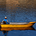 Old Man And His Boat by Penny Haviland