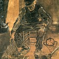 Old Man At The Fireside by Vincent Van Gogh