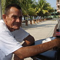 Old Man Drinking Coca Cola by Samanta Munguia