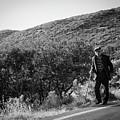 Old Man In Rural Greece by Al Poullis