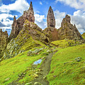 Old Man Of Storr Pinnacles by Benny Marty