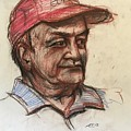 Old Man With Cap by Alejandro Lopez-Tasso
