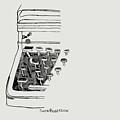 Old Manual Typewriter by Sheri Buchheit