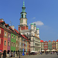 Old Marketplace And The Town Hall Poznan Poland by Ivan Pendjakov