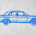 Old Mercedes Benz by Naxart Studio