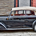 Old Mercedes Profile Shot by Val Black Russian Tourchin