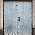 Old Metal Door by Tom Gowanlock