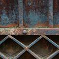 Old Metal Gate Detail by Elena Elisseeva