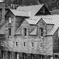 Old Mill Buildings by Edward Fielding