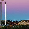 Old Mill District - Bend, Oregon by Mike Albright