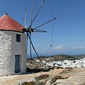Old Mill In Greece by FL collection