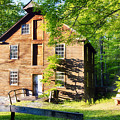Old Mill In Warm Summer Afternoon Light by George Oze