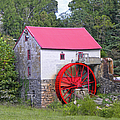 Old Mill Of Guilford Squared by Sandi OReilly