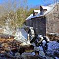 Old Mill On The Tom Tigney River, Nova Scotia by Gary Corbett