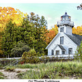 Old Mission Lighthouse by Barbara Treaster