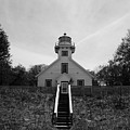 Old Mission Point Lighthouse by Joann Copeland-Paul
