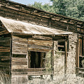 Old Montana Camp  by Elaine Malott