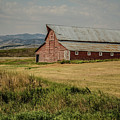 Old Montana Ranch by Edward Fielding