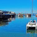 Old Monterey Wharf by Robert Meyers-Lussier