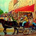 Old Montreal Restaurants by Carole Spandau