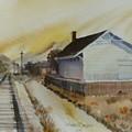 Old Morgan Train Depot by JoAnne Corpany