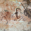 Old Mural Painting In The Ruins Of The Church by Michal Boubin