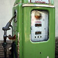 Old National Gas Pump by DazzleMePhotography