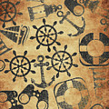 Old Nautical Parchment by Jorgo Photography - Wall Art Gallery