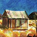 Old New Mexico Cabin by Diana Dearen