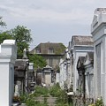 Old New Orleans Cemetery - The Big House  by Ann Davis