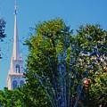 Old North Church, Boston # 3 by Marcus Dagan
