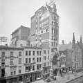 Old Nyc New Amsterdam Theater Photograph - 1905 by PhotographyAssociates