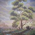 Old Oak Tree Creek by Nora Niles