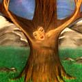 Old Oak Tree by Misty VanPool