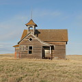 Old One Room School House by Jeff Swan