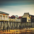 Old Orchard Beach Pier by Library Of Congress