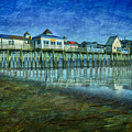 Old Orchard Beach Pier  Oob by Susan Candelario