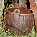 Old Ore Bucket by Phyllis Denton