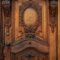Old Ornamented Wooden Doors by Jaroslaw Blaminsky
