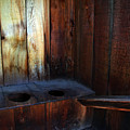 Old Outhouse by Joanne Coyle