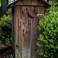 Old Outhouse by Paul Freidlund