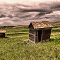 Old Outhouses by Jeff Swan
