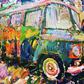 Old Paint Car by Yury Malkov