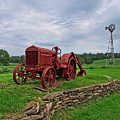 Old Painted Tractor by Mark Miller