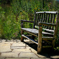 Old Park Bench by Perry Webster