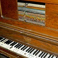 Old Piano by Dale Chapel