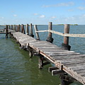 Old Pier by Wendell Baggett