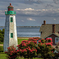 Old Point Light And Keeper's House by Jerry Gammon