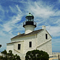 Old Point Loma Lighthouse by Methune Hively