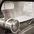 Old Police Car Siren by Marilyn Hunt